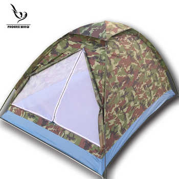 Waterproof Open Tents Outdoor Luxury 210t Polyester Family Camping Tent For 2 Persons Double Layer Free shipping - DISCOUNT ITEM  33% OFF All Category