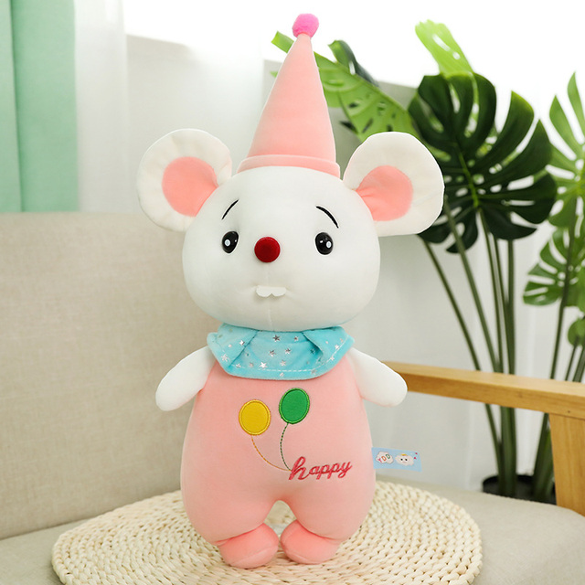 1pcs 45-85cm Mouse Plush Lovely Rat Pillow Stuffed Animal Plush Toys for Girls Children Boys Toys Cute Ugly Birthday Gift Dolls