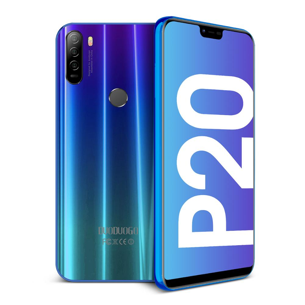 4G LTE 4GB+64GB DUODUOGO P20 Mobile Phone Android 8.1 5.85