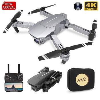 XKJ nuevo Dron E98 WIFI FPV Drone con gran angular HD 4K...