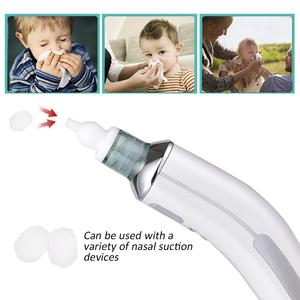 200 шт Детский носовой аспиратор фильтр хлопок носовой всасывающий прибор аксессуары одноразовый фильтр хлопок очиститель носа