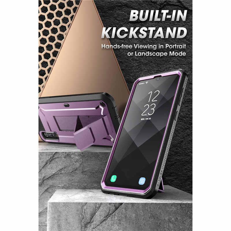 SUPCASE do etui Samsung Galaxy A50 (wydanie 2019) futerał na cały korpus UB Pro z wbudowanym ochraniaczem ekranu i podstawką