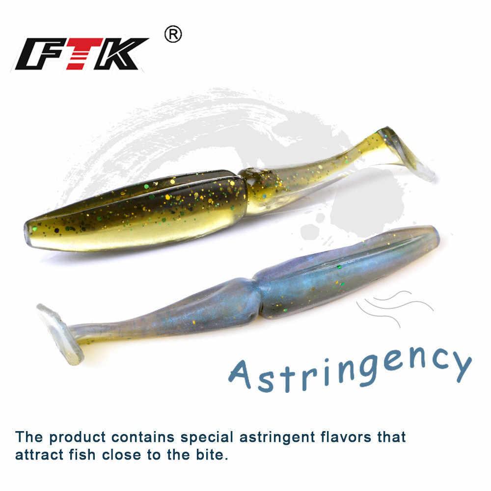 FTK ตกปลา Lure 90mm 105mm ตกปลา Lure Wobbler เหยื่อประดิษฐ์กลิ่น Attractant ตกปลาเหยื่อ T TAIL isca ประดิษฐ์