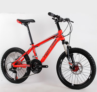 어린이 자전거 mtb 산악 자전거 20 인치 21 속도 알루미늄 합금 프레임 기어 시프트 shimano 디스크 브레이크 자전거 bmx