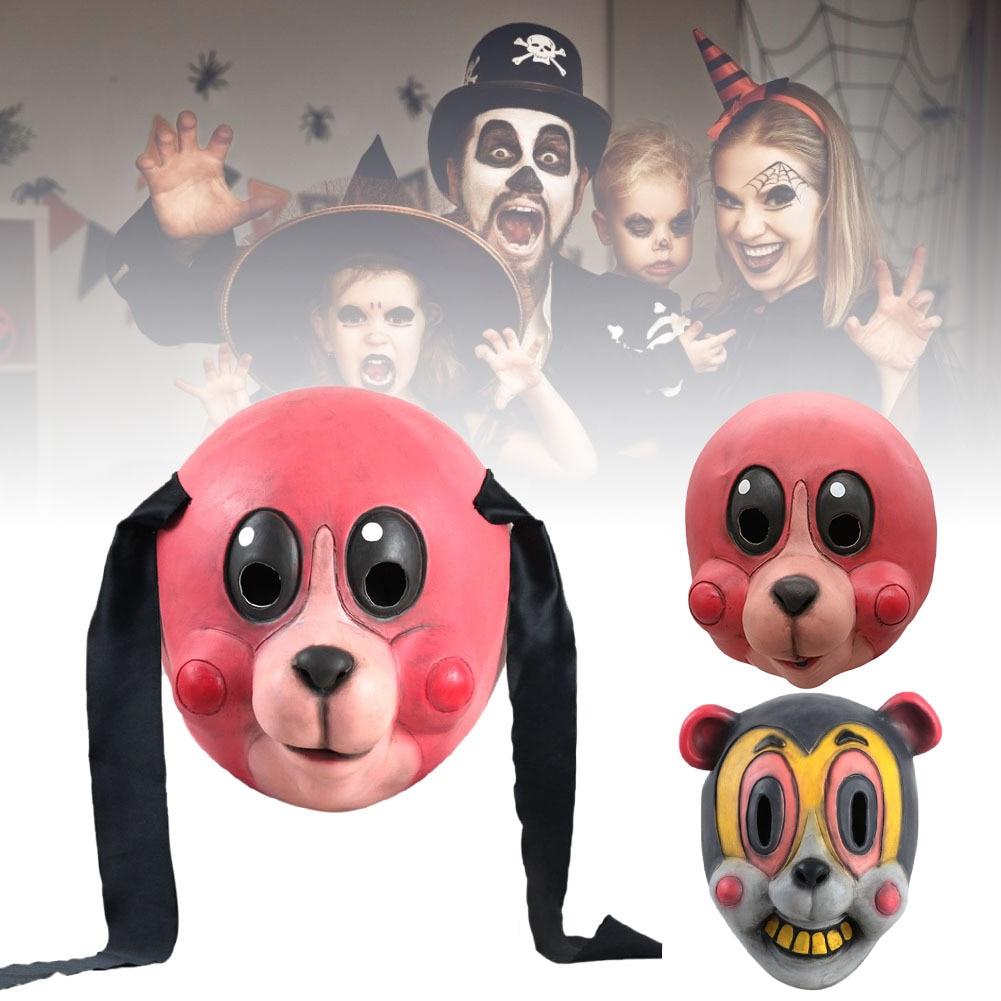 Image 5 - Umbrella Academy Cosplay Mask Hazel Cha Cha Latex Headwear Funny Novelty Animal Cosplay Props 2020 New TV Carnival Party PropsMovie & TV costumes   -