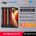 Мировая премьера предпродажа DOOGEE S97 Pro Мобильный телефон Смартфон 40m лазерный дальномер 48MP Quad Camera Helio G95 Octa Core 8 ГБ + 128 ГБ