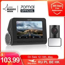 70mai – caméra de tableau de bord A800S 4K, GPS intégré, ADAS Real, caméra UHD, qualité d'image 24H, Parking avant et arrière, 140FOV