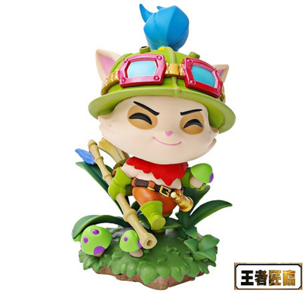 Official League of Legends LOL Teemo Collectible Statue PVC Figure Model Toy
