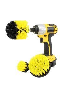 2/3.5/4inch-drill Scrub-Clean-Brush Furniture Power-Scrub Wooden Car-Interiors-Cleaning