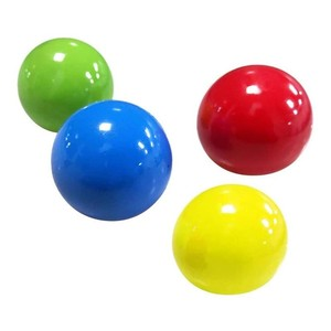 Sticky Balls Throw At Ceiling Decompression Ball Sticky Squash Ball Suction Decompression Toy Sticky Target Ball Children's Toy