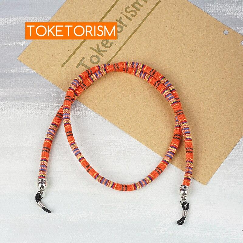 Toketorism trendy sunglasses cord retro eyeglass neck Cotton glasses chains TM31
