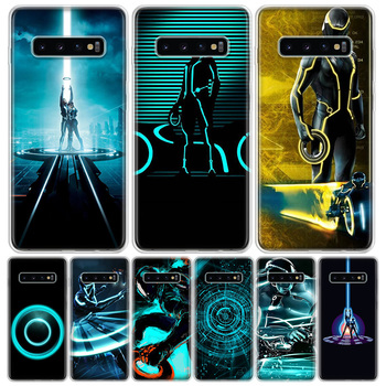 Tron Legacy Phone Case For Samsung Galaxy S20 Ultra Plus S6 S7 S8 S9 S10 NOTE8 NOTE9 NOTE10 J4 J6 Plus Edge Lite Hot Fashion image