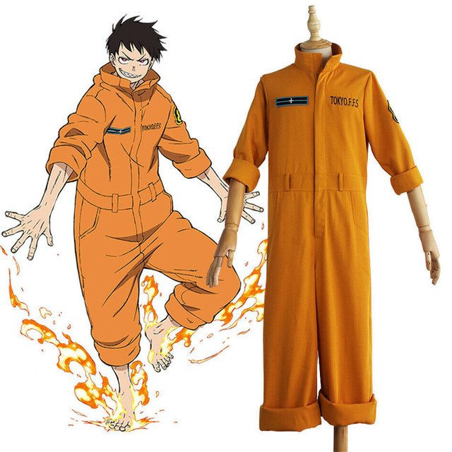 FIRE FORCE SHINRA KUSAKABE COSPLAY