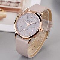 Luxus Marke Leder Quarz frauen Uhr Damen Mode Uhr Frauen Armbanduhr Uhr relogio feminino stunden reloj mujer saati-in Damenuhren aus Uhren bei