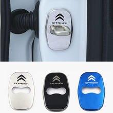 Отделка дверного замка для защиты от ржавчины Нержавеющаясталь Пластик Крышка для Citroen C1 C2 C3 C4 C5 C6 C8 C4L DS3 DS4 DS5 DS5LS DS6