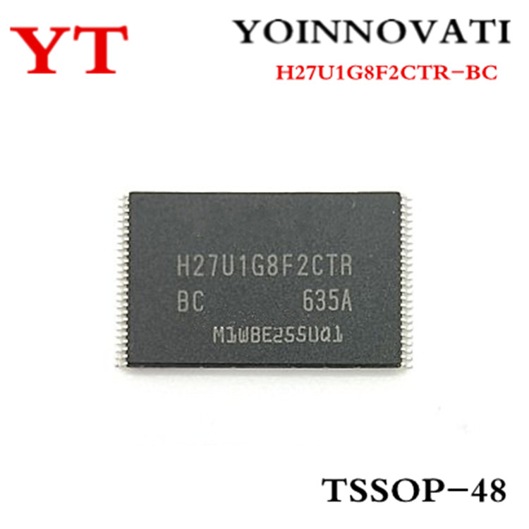 10pcs/lot H27U1G8F2CTR-BC  H27U1G8F2CTR BC TSSOP-48 IC Best Quality.