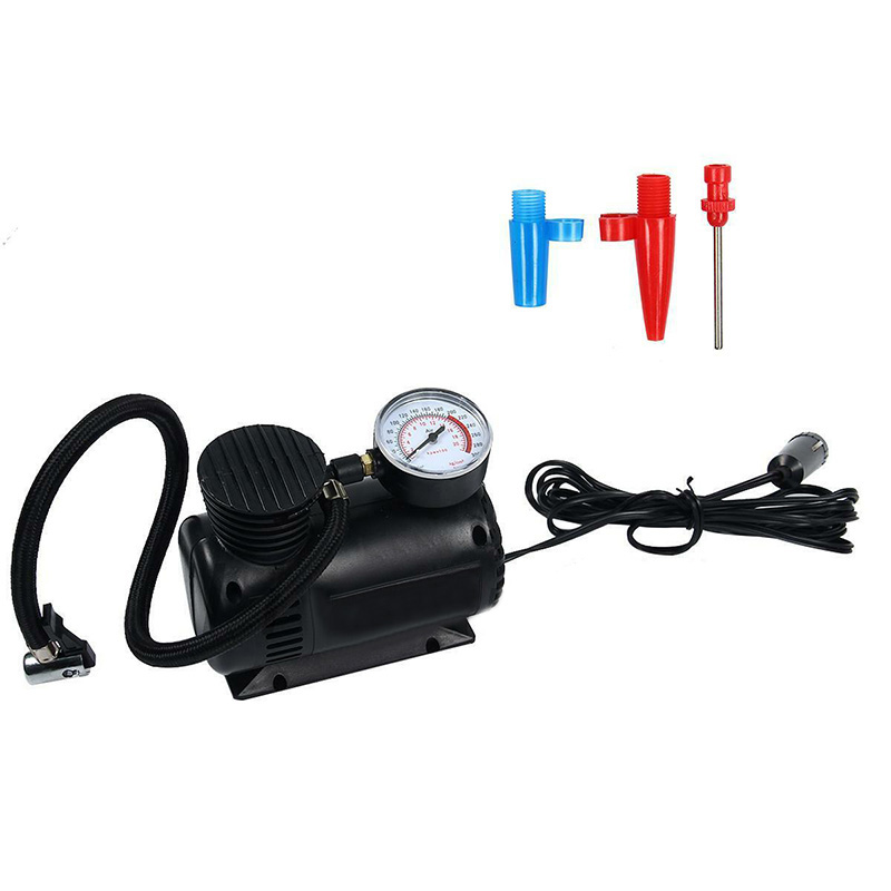 Tire Inflator Car Air Pump Compressor 300 PSI Electric Portable Auto Replace
