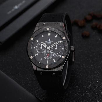 Luxury Brand Quartz Mens Watches Quartz Watch Stainless Steel Strap Men's Wristwatch Classic Business Dress Men's Watch 9814