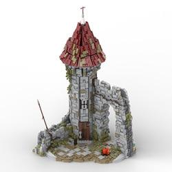 3184 PCS MOC Toys Game Series City Street Scene Castle Building Blocks Modular Construction Block Model