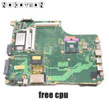 NOKOTION V000125720 Motherboard für Toshiba Satellite A300 A305 6050A2171301 PT10SG WICHTIGSTEN BORD DDR2 mit grafiken freie cpu
