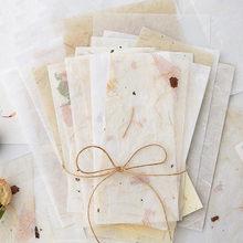 30 pièces Style Vintage papier d'emballage Scrapbook décoration matériel papier de soie bricolage artisanat signet Collage Floral papier spécial