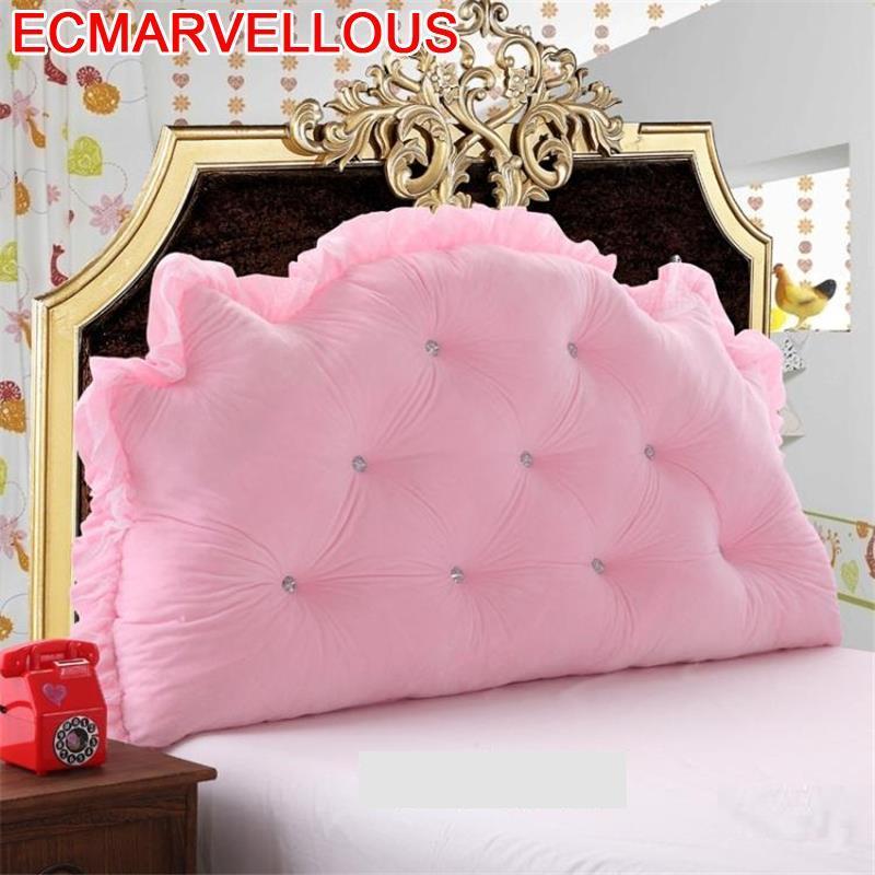 Cama Decorativo Almofada Decorativa Nordic Decoration Sofa Cojin Coussin Big Pillow Cojine Back Home Decor Headboard Cushion
