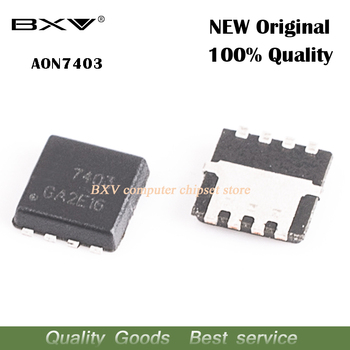 20pcs AON7403 AO7403 7403 MOSFET QFN-8 free shipping new original 10pcs free shipping 100% new original new irf640npbf to 220 mosfet n channel fet