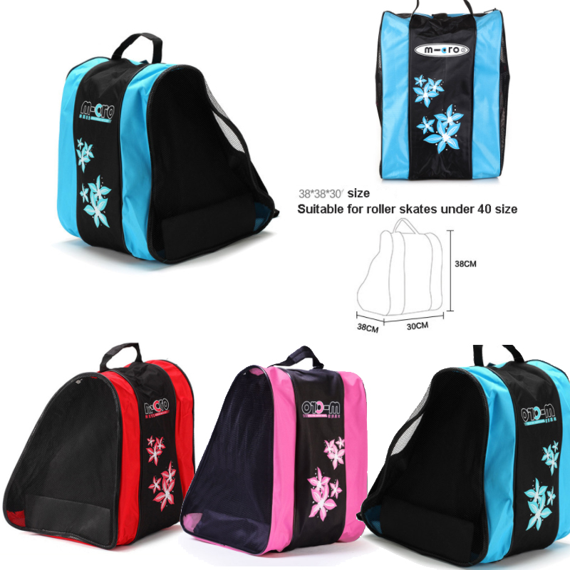 Professional Ice Ski Snow Boots Bag Skate Helmet Portable Carry Shoulder Bag Non-slip For Snowboard Accessories Black