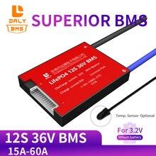 3.2V 50ah 12S 36V 15A 20A 30A 40A 50A 60A Lifepo4 Bms Pcm Batterij Bescherming Boord Met balans Functie Ntc Voor Scooter