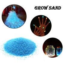 Lueur dans la pierre sombre sable galet pierre lumineuse Aquarium décoration bricolage matériel Aquarium substrat Festival décor ornement