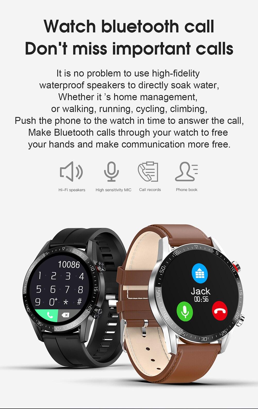 cardíaca ip68 à prova dip68 água smartwatch relógio de negócios