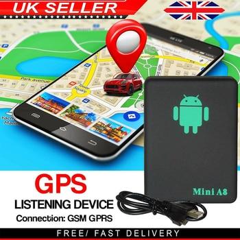Mini Spy Bug Room Remote Voice Surveillance GSM Listening Box Device Sim Slot UK GPS Positioning Accuracy 10m 5