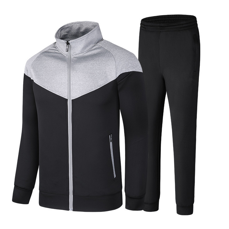 Brand Tracksuit Men Two Piece Clothing Sets Casual Jacket+Pants Male Track Suit Sportswear Autumn Winter Sweatsuits Size M-5XL