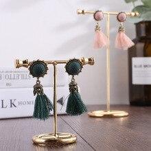 Women vogue Jewelry Necklace Bracelets Earrings Rings Stand Display Organizer Holder Show Rack Showing Shelf недорого