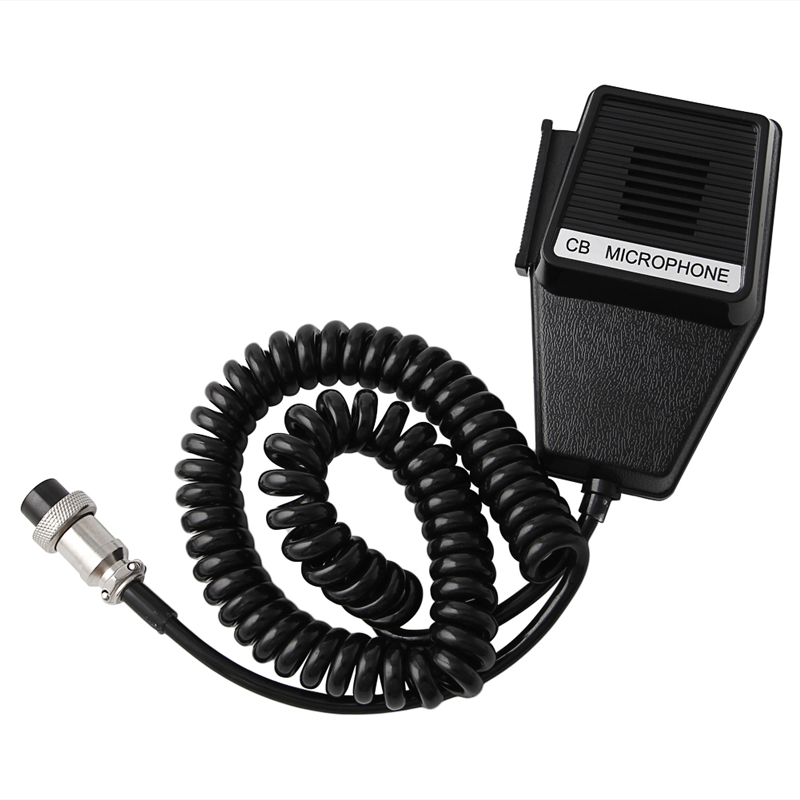 Speaker Mic CB Radio CM4 Worker 4 Pin Cobra Uniden Car Accessories J6285a New DXAC