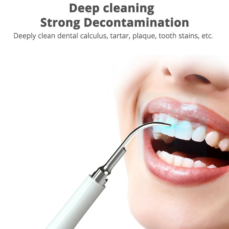 AD-Ultrasonic Scaler Tips Handpiece for Xiaomi Soocas Electric Toothbrush Remove Calculus Plaque Tooth Stain