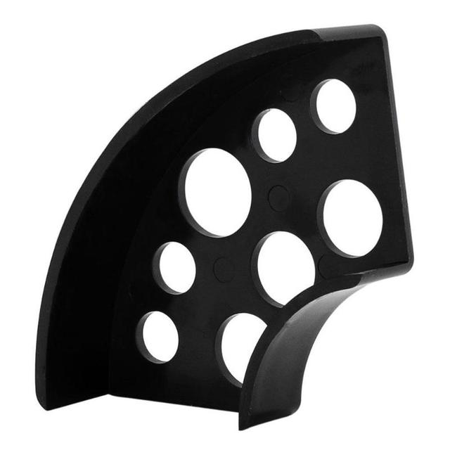 1pc 8 Holes Tattoo Ink Cup Holder Plastic Fan Shaped Stand Tattoo Pigment Cup Rack Skin Holder Container Cap Tattoo Accessories