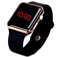 Fashion Unisex Watches Men Led Digital Watches Silicone Band