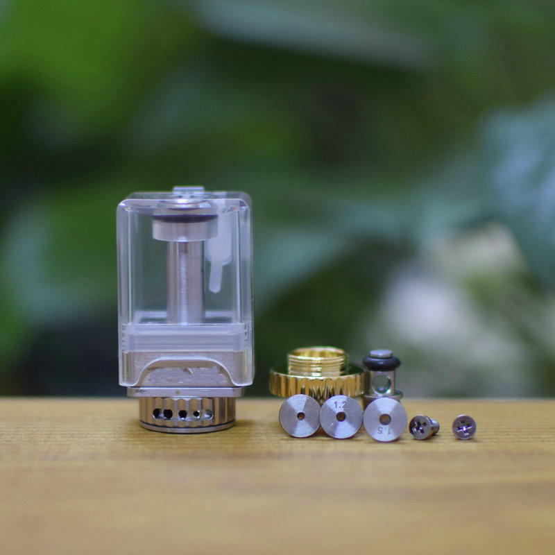 DOTSHELL Style Rebuildable Tank W/ Extra DOTSHELL/VAPESHELL MTL Pins For DOTAIO Mod
