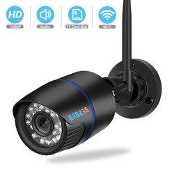 Besder icsee câmera de segurança áudio ip 1080 p sem fio com fio onvif cctv vigilância ao ar livre wi-fi câmera com slot para cartão sd max 64g