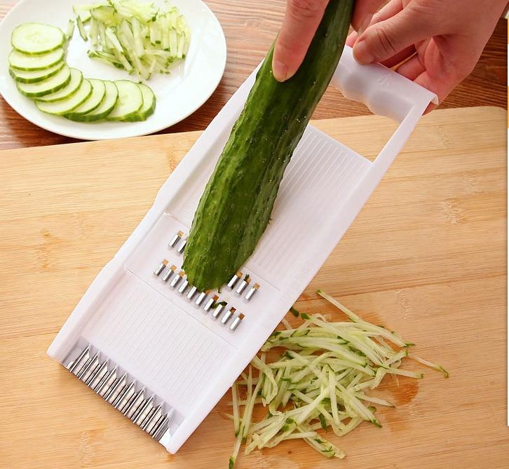 Многофункциональная текла для овощей, 5 в 1