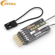 קורונה R6DM SB 2.4GHZ DMSS 6CH תואם מקלט משמש JR DMSS משדרים, כגון XG6 XG7 XG8 XG11 XG14