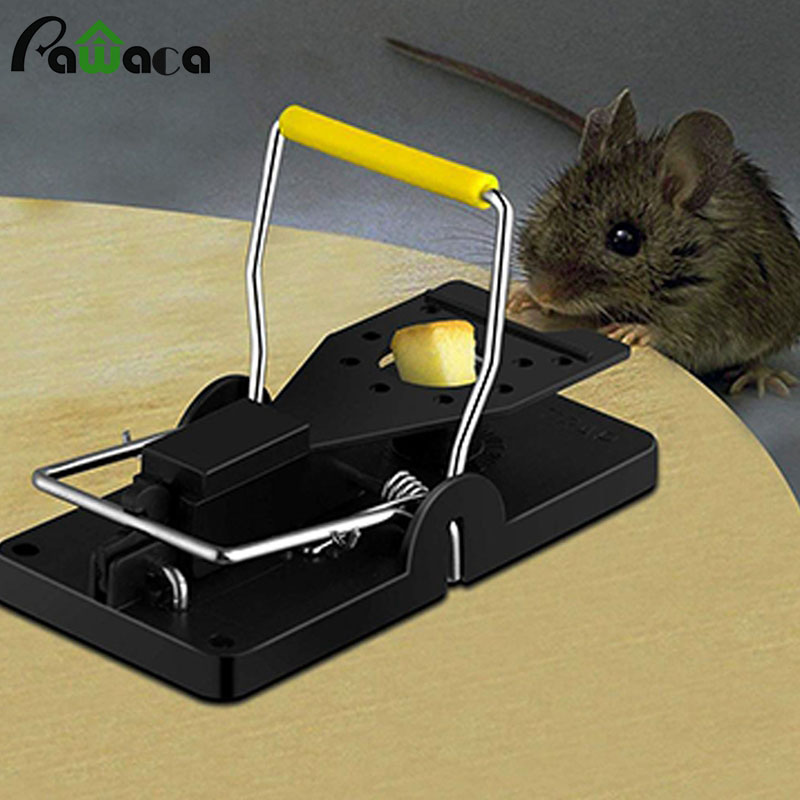 Easy to Release Mouse Trap with Large Stroke Paddles for Catching Rats in Kitchen Bedroom and Basement 4