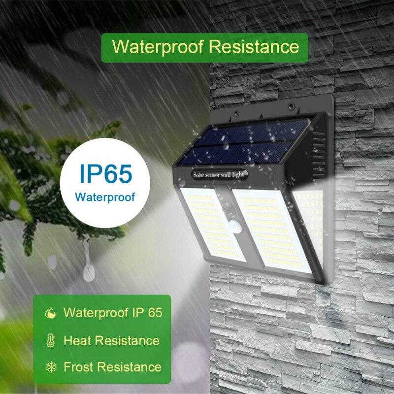 lowest price 250 LED Solar Light Outdoor Solar Lamp Solar Powered Sunlight Waterproof PIR Motion Sensor Street Light for Garden Decoration