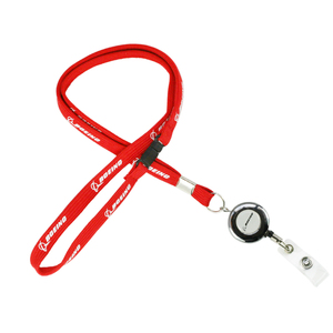 Image 4 - Boeing Airlines Lanyard  787 with Easy Pull Buckle for Pilot Flight Crew ID Holder Blue Red Color