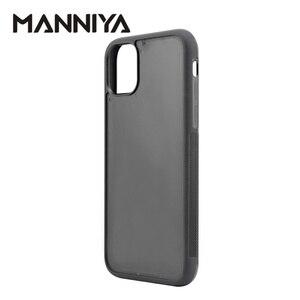 Image 3 - MANNIYA için iphone 11/11 pro/11 pro max boş oluk kauçuk TPU + pc telefon kılıfı Ücretsiz Kargo! 100 adet/grup
