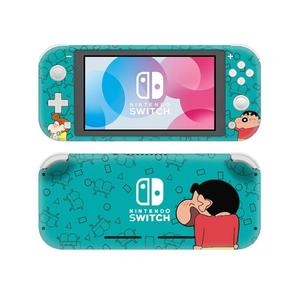 Image 4 - Crayon Shin Chan NintendoSwitchสติกเกอร์รูปลอกผิวสำหรับNintendoสวิทช์Lite Protector Nintend Switch Liteสติกเกอร์ผิว