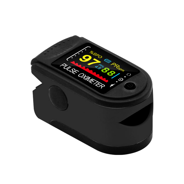 New!! Finger Pulse Oximeter Fingertip Oximetro de pulso de dedo LED Pulse Oximeters Saturator Pulsioximetro 5