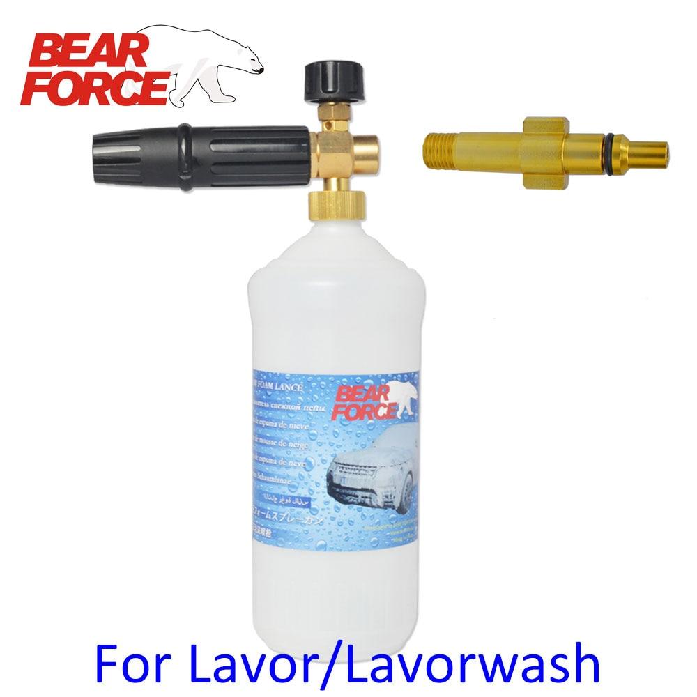 Foam Nozzle Gun Cannon/ Car Wash Soap Detergent Sprayer/ Snow Foam Lance/ Foam Generator For Lavor Vax High PressureWasher