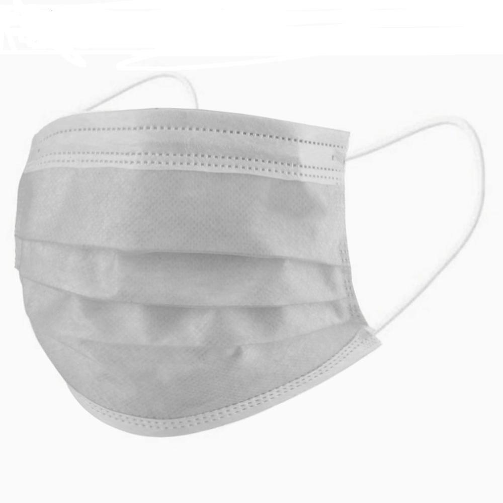 10/50pcs 3 Layers Face-mouth Mask Anti Dust Kit For Mouth Mask Activated Carbon Filter Windproof  For Face Masks